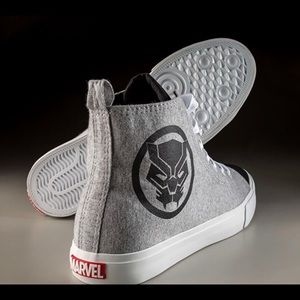 Marvel Black Panther High Top Sneaker